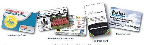 PLASTIC CARD PRINTING Fundraiser/Discount Card