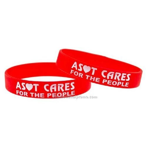 Silicone Wristbands - Screen Printed