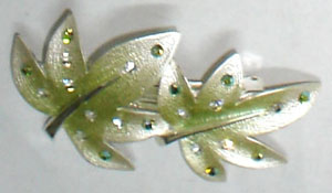 two-leaf Alloy hair clamps