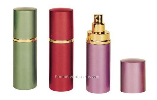 Aluminium perfume spray