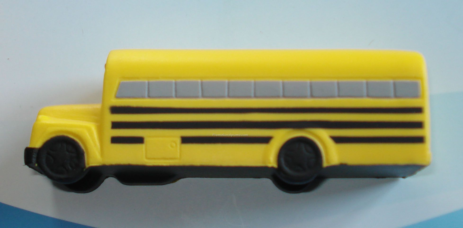 PU bus stress ball