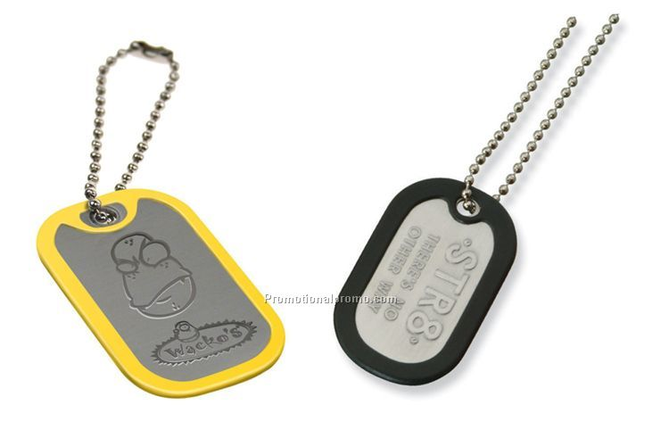 Promotional Customized Aluminum blank Dog tag