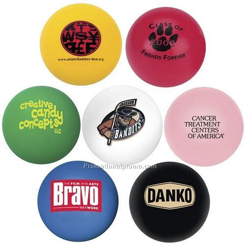 Round PU stress ball