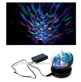 Rotating Kaleidoscope projector